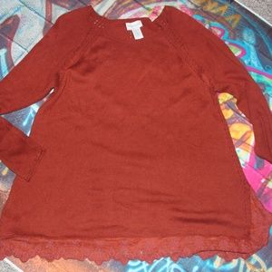 Soft Surroundings Coral top